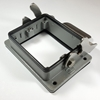 HD Bulkhead mounting for 32 pins insert HD Hood for 32 pins insert with side cable entry,