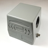 HD Hood for 32 pins insert with side cable entry HD Hood for 32 pins insert with side cable entry,