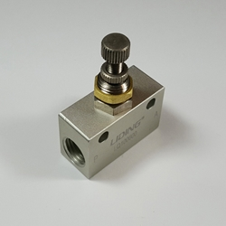 Throttle valve 1/4 NPT Throttle valve 1/4 NPT, speed control valve,