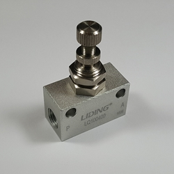 Throttle valve 1/8 NPT Throttle valve 1/8 NPT, speed control valve,