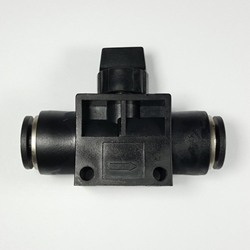 "Union hand valve, 3/8"" OD tube Union hand valve 3/8, Shut off valves, valves, push to connect valves, valves pneumatics fittings,"