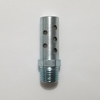 Compact High-Flow Muffler, 1/4 NPT port muffler, silencer, pneumatic, Compact High-Flow Muffler, 1/4 NPT port