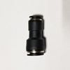 Reducing union Push-to-Connect, Straight reducing union connector, best fittings, Straight reducing union connector 3/8 to 1/4,