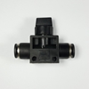 "Union hand valve, 1/4"" OD tube Union hand valve 1/4, Shut off valves, valves, push to connect valves, valves pneumatics fittings,"