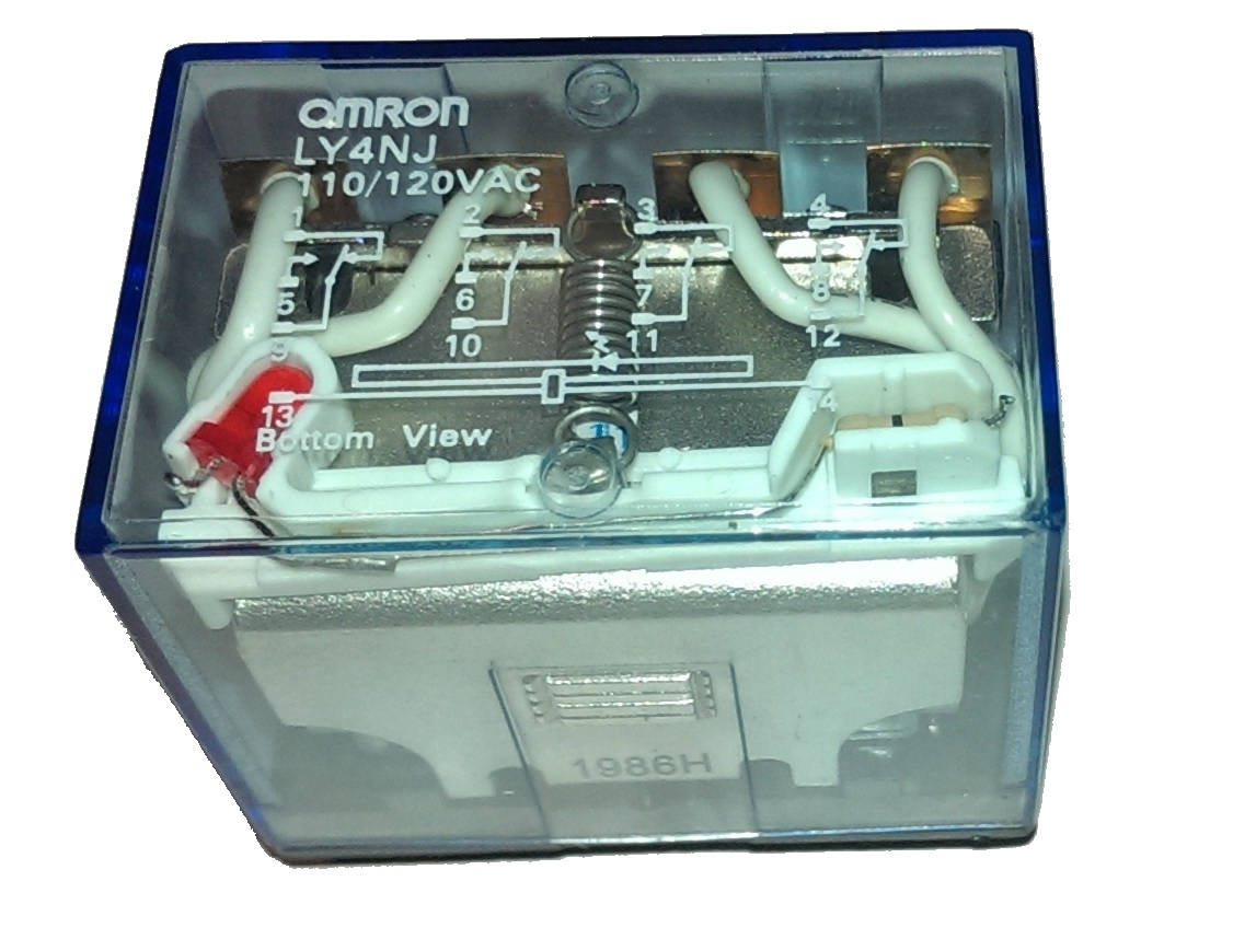 Omron Ly2n Relay Wiring Diagram 31 Images 24v Timer Dolgular Ly4nj Ac110 120